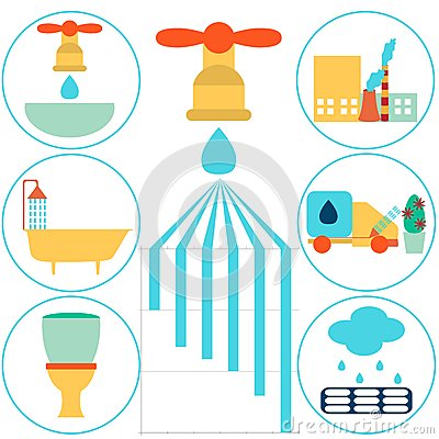 The Composition Of Wastewater Stock Photo.
