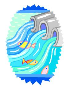 Water treatment clipart.