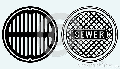 Sewer Clipart.