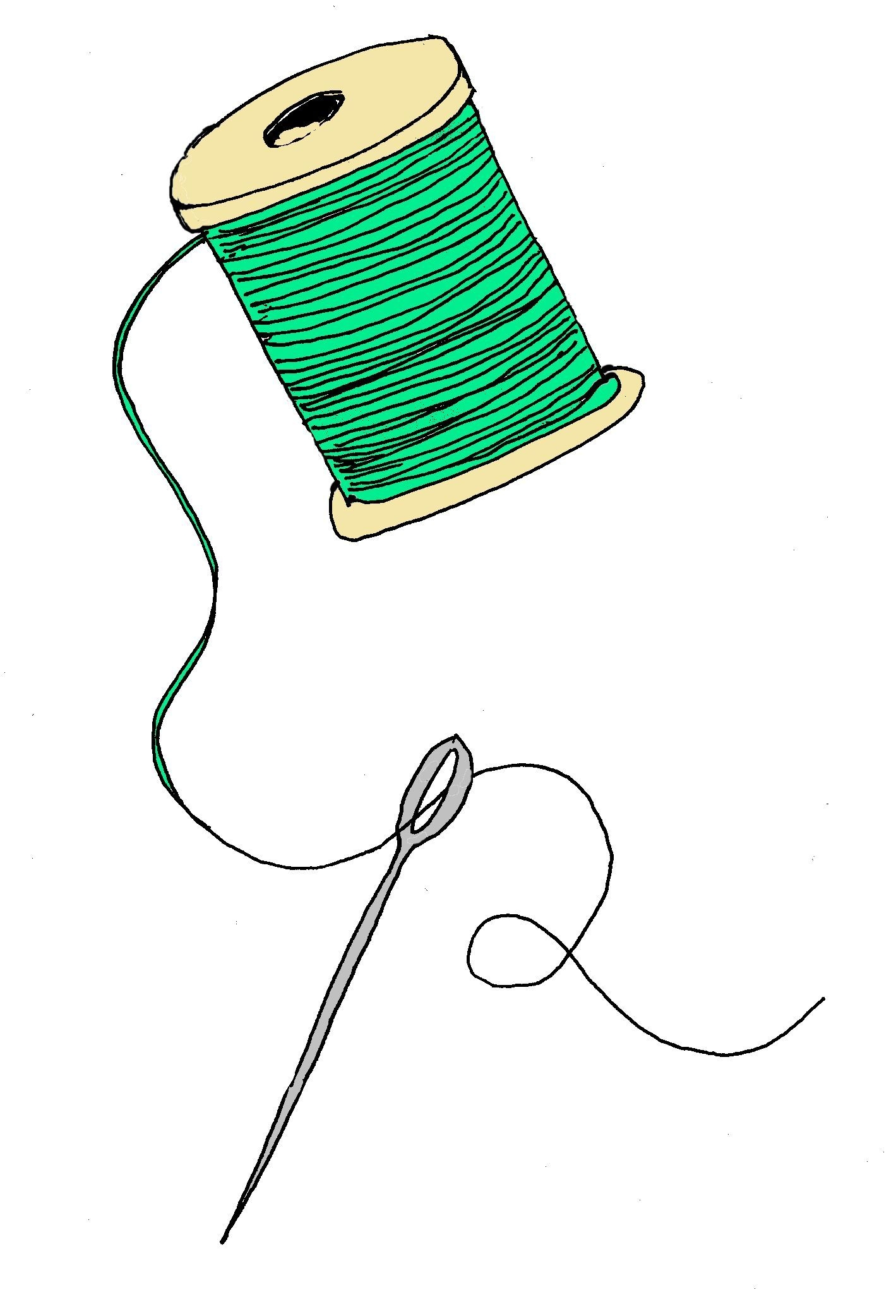 Clipart of sewing.