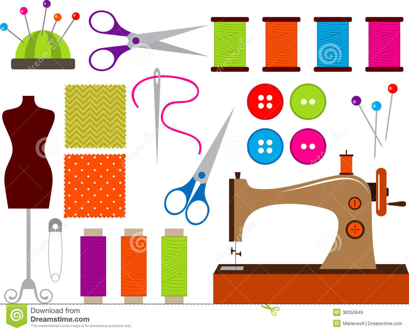 34+ Sewing Clipart Free.