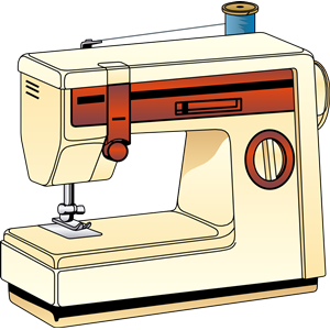 sewing machine 02 clipart, cliparts of sewing machine 02 free.