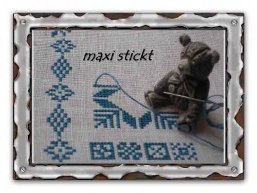 maxi stickt: Für Valentin 2017.