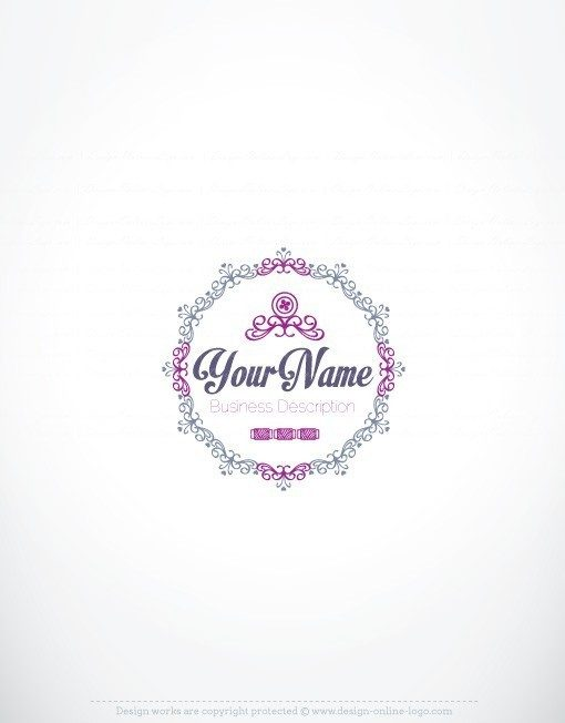 Exclusive Design: Sewing Logo + Compatible FREE Business Card.