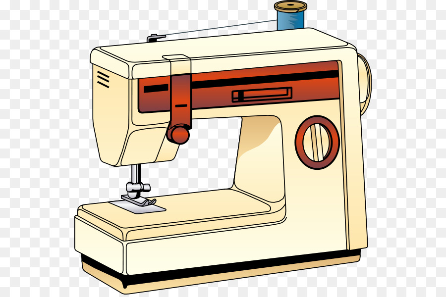 Sewing Machines Machine png download.