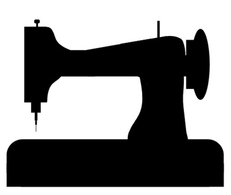 Sewing machine clip art.