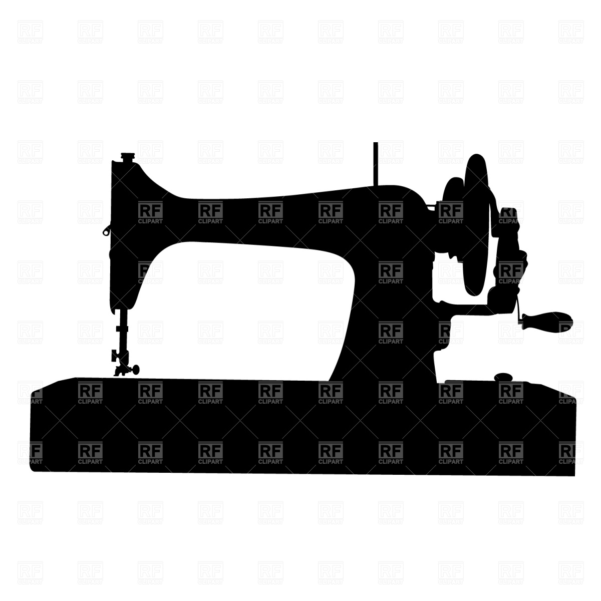 Sewing Machine Clipart #8.