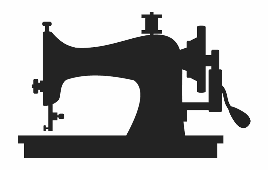 Free Sewing Machine Clip Art Black And White, Download Free.