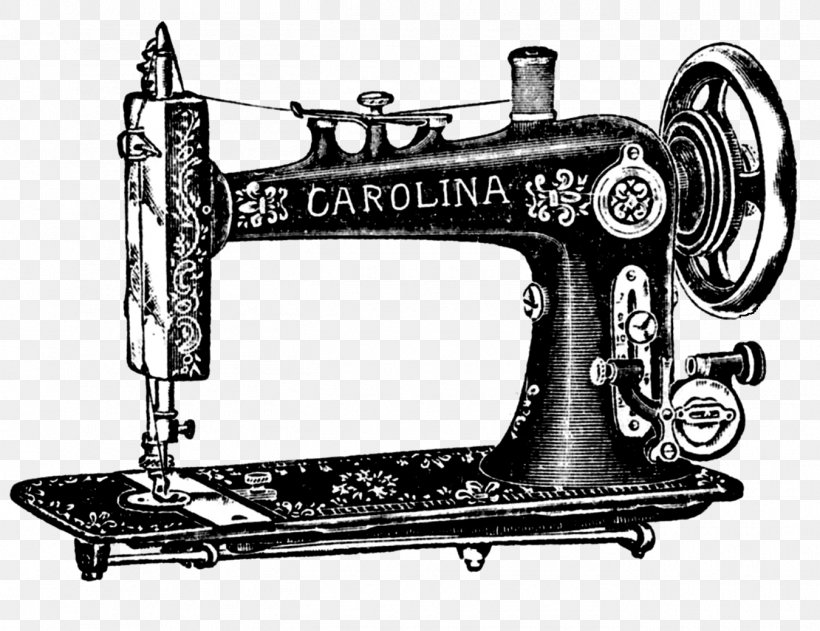 Sewing Machines Treadle Clip Art, PNG, 1350x1039px, Sewing.