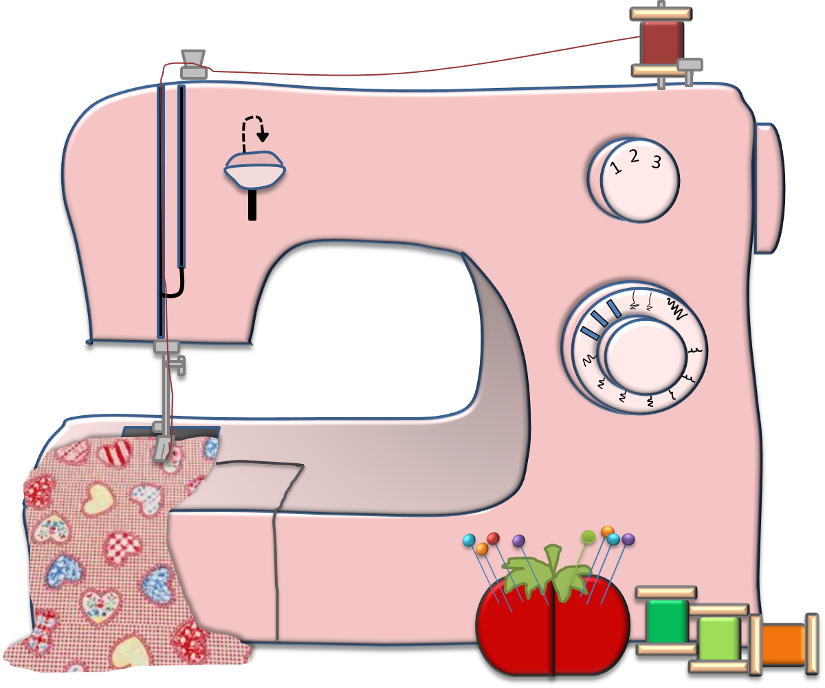 Clip art sewing machine clipart images gallery for free.