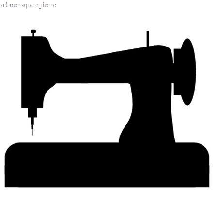 59+ Sewing Machine Clip Art.