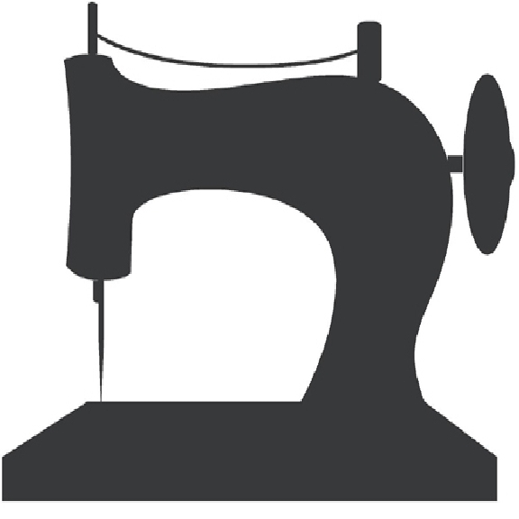 Sewing machine silhouette clip art pictures to pin on 2.