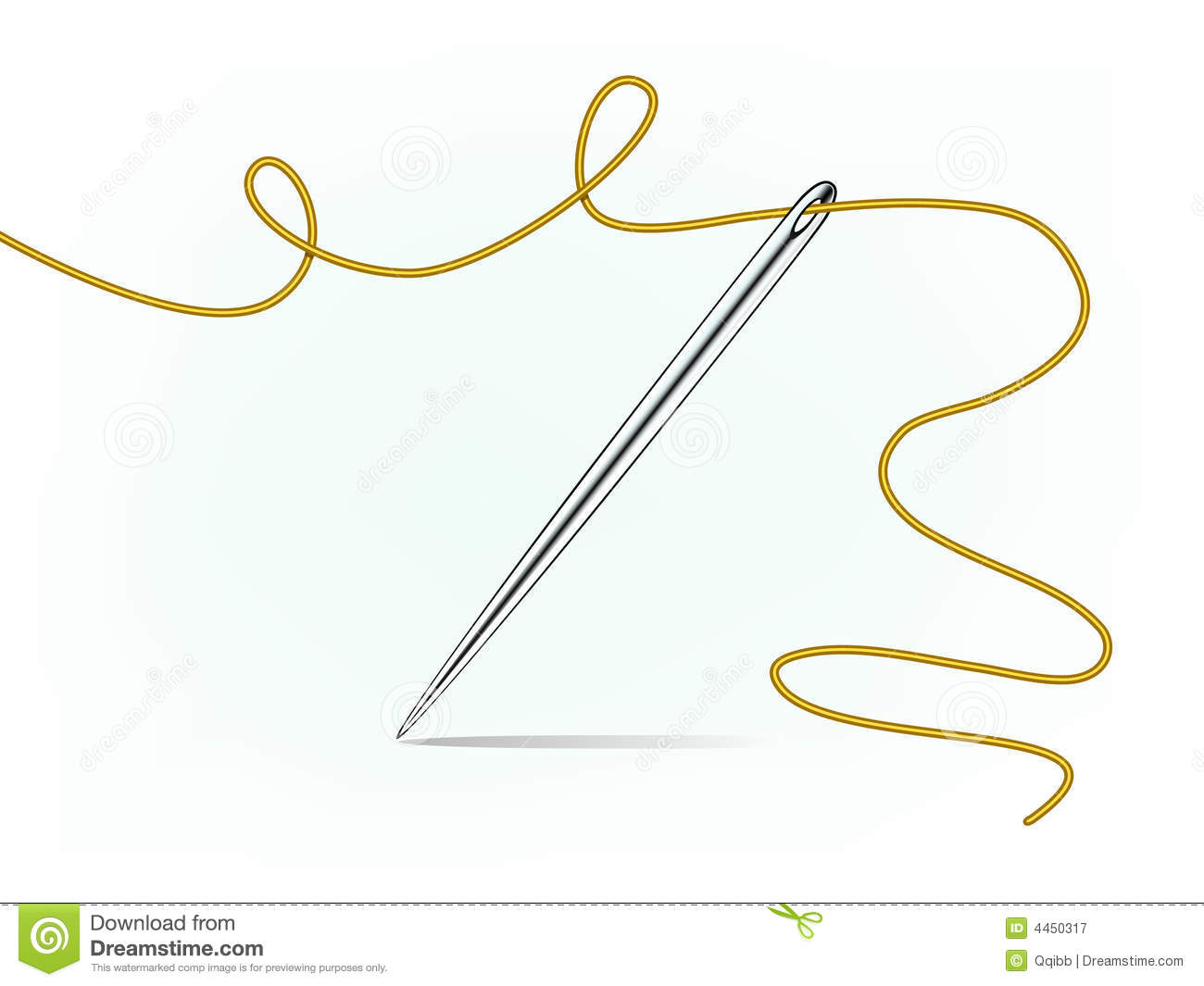 Sewing Needle Clipart.