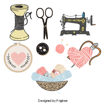 Sewing Machine PNG Images.