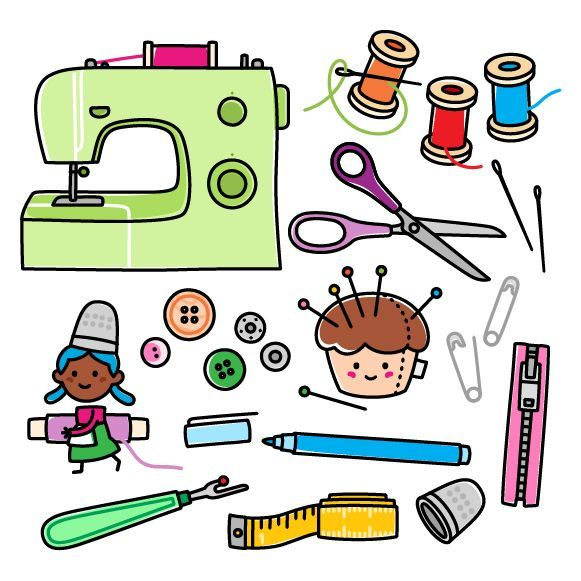 Sewing supplies clipart 2 » Clipart Portal.