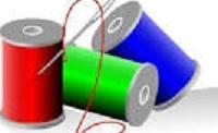 Sewing thread.