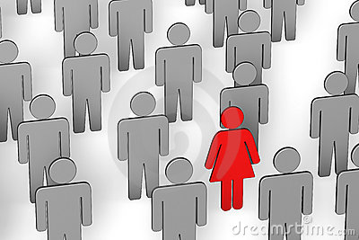 Discrimination Sexism Stock Illustrations.
