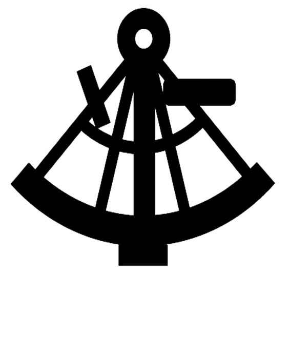 sextant silhouette.