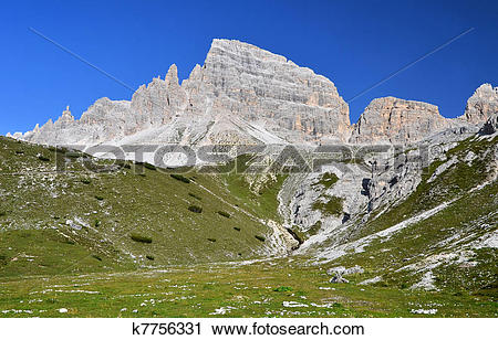 Stock Photography of Sexten Dolomites, Italy k7756331.