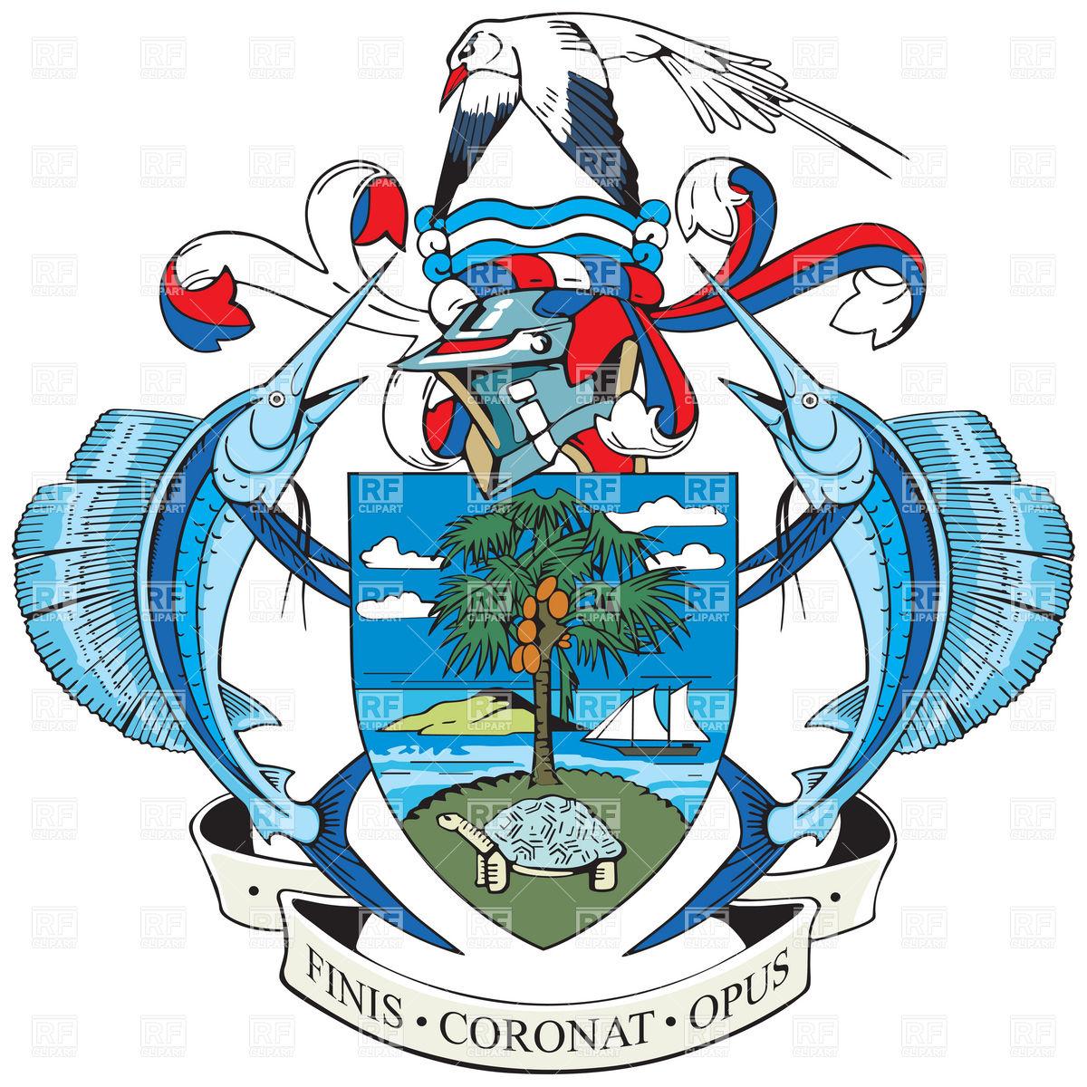 Seychelles Flag Clipart.
