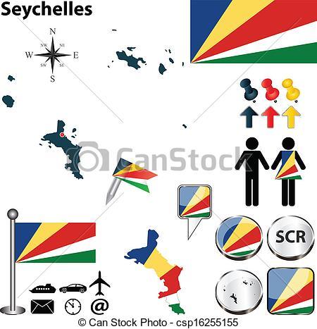 Seychelles clipart.