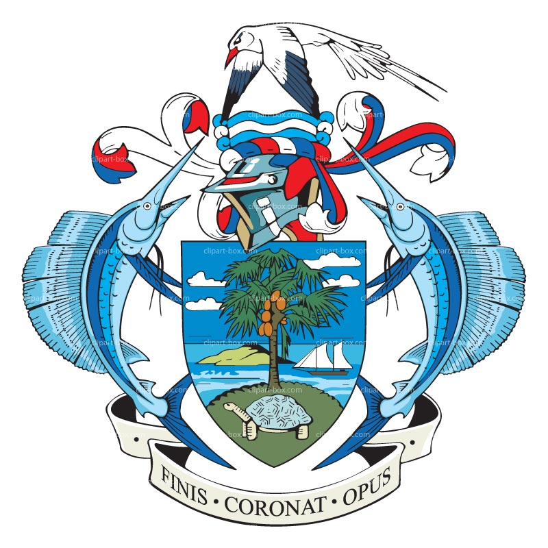 CLIPART SEYCHELLES COAT OF ARMS.