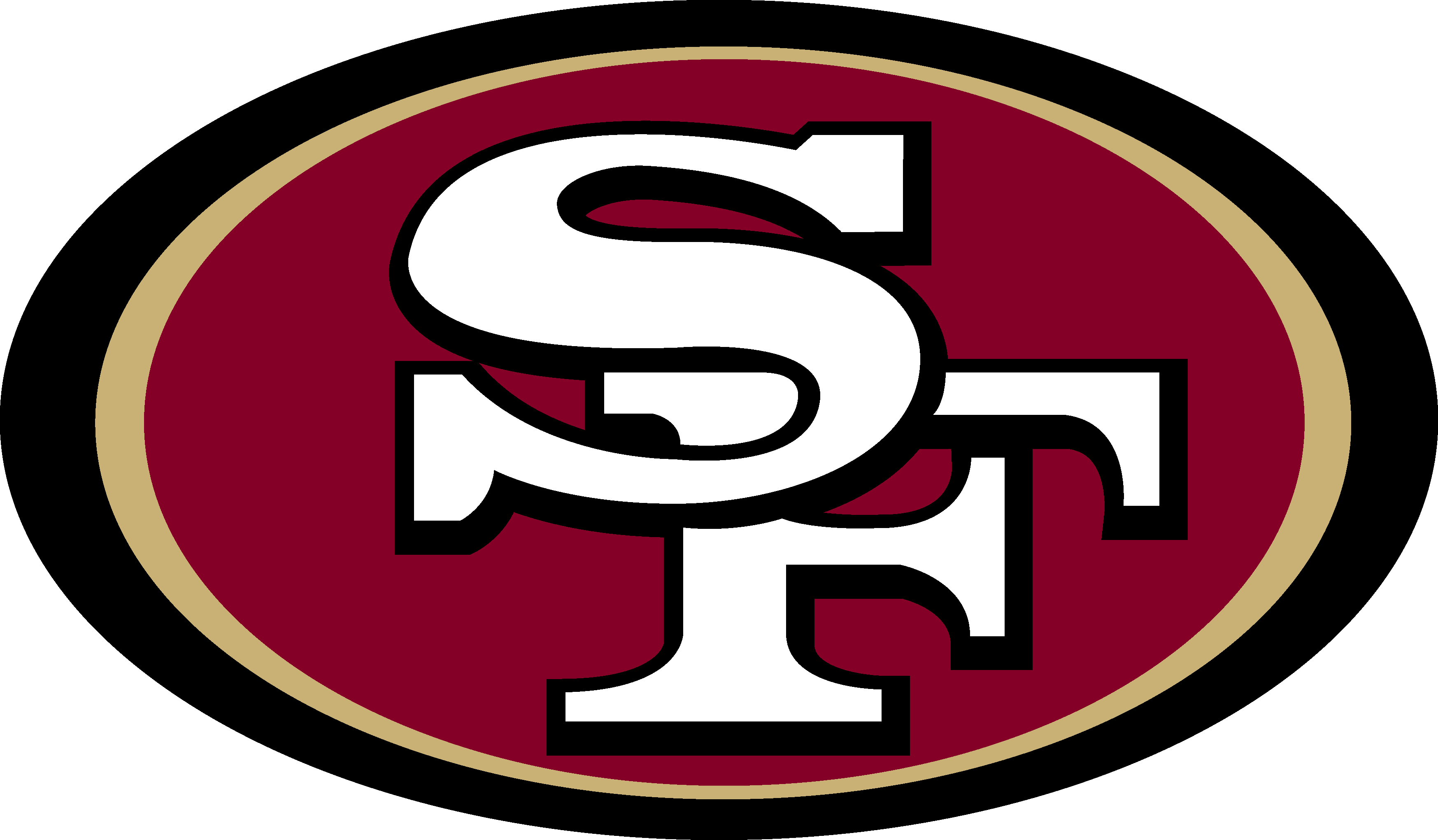 SF Logo [San Francisco 49ers Logo] Download Vector.