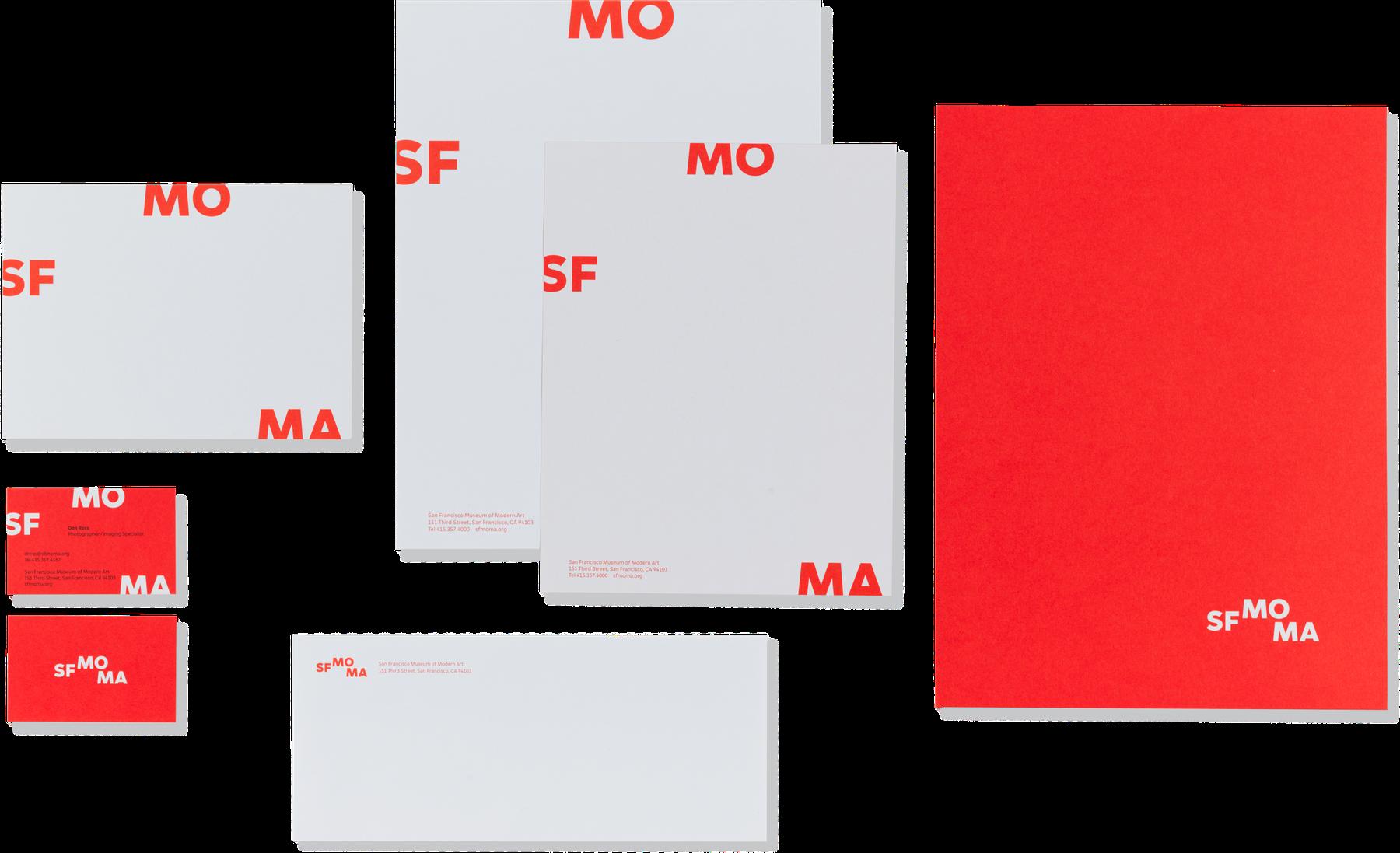 SFMOMA letterhead.