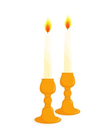Shabbat Candles Clipart & Free Shabbat Candles Clipart.png.