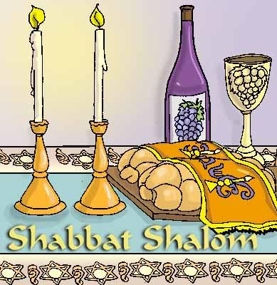 Shabbat clipart 6 » Clipart Station.