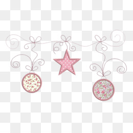 Shabby Chic Christmas PNG.