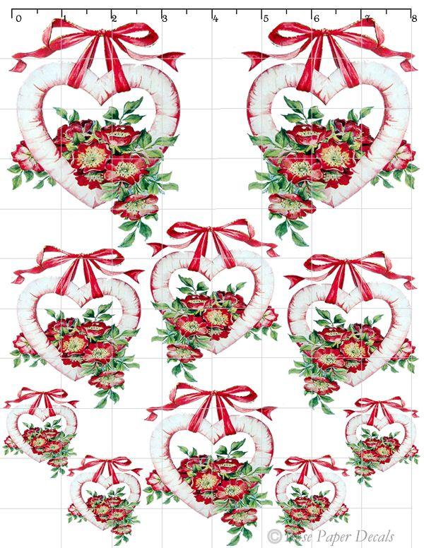 Shabby Chic Christmas Clipart.
