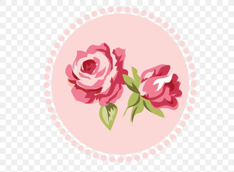 Shabby Chic Rose Flower Pink Clip Art, PNG, 608x604px.