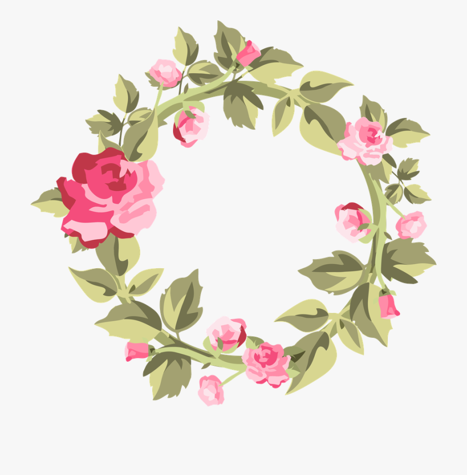 Flower Tag Clipart.