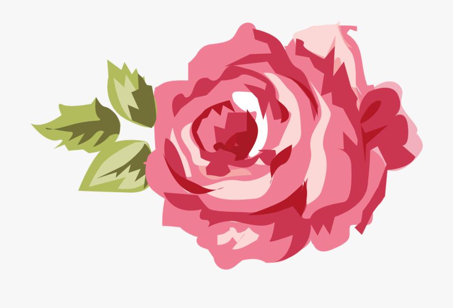 Shabby Chic Flower Clip Art.