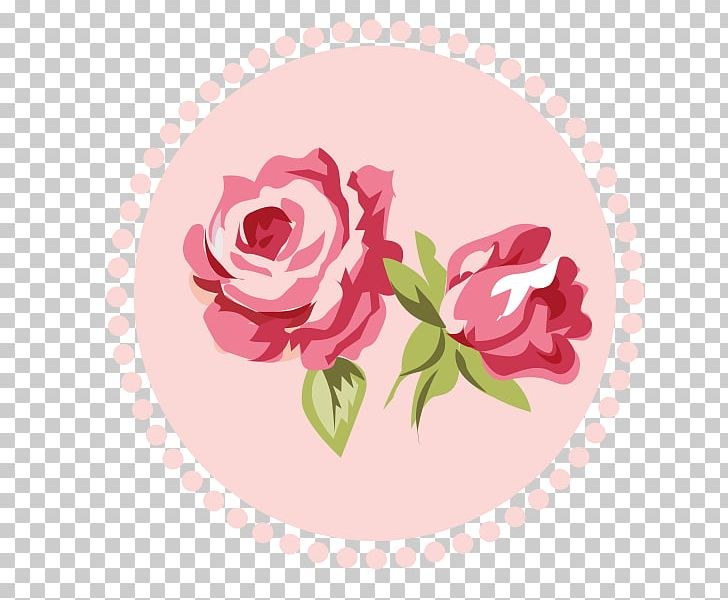 Shabby Chic Rose Flower Pink PNG, Clipart, Border Frames.