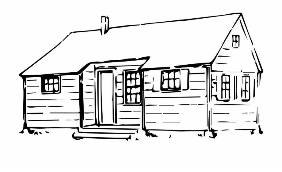 Free Hut Clipart Black And White, Download Free Clip Art.