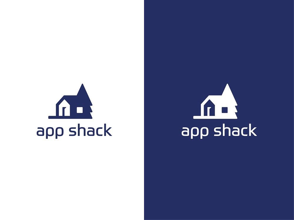 Case Study: App Shack. Designing Logo for Digital Agency..