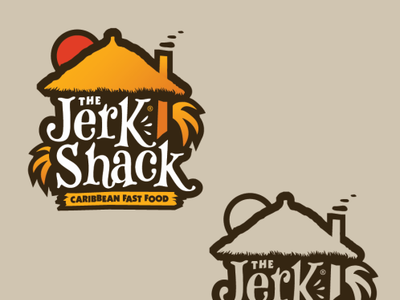 The Jerk shack logo by Sultan Shalakhti.