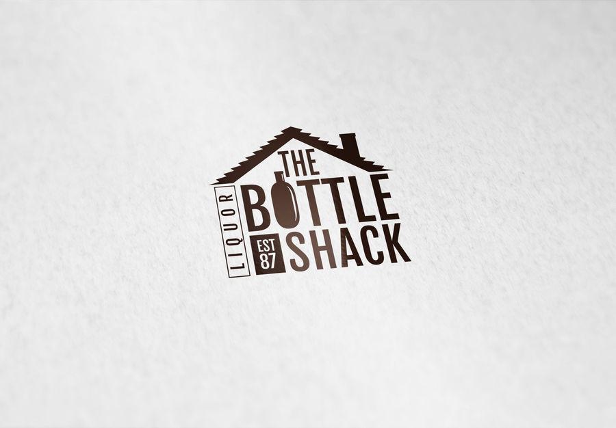 Entry #2 by Riteshakre for The Bottle Shack Logo Design.