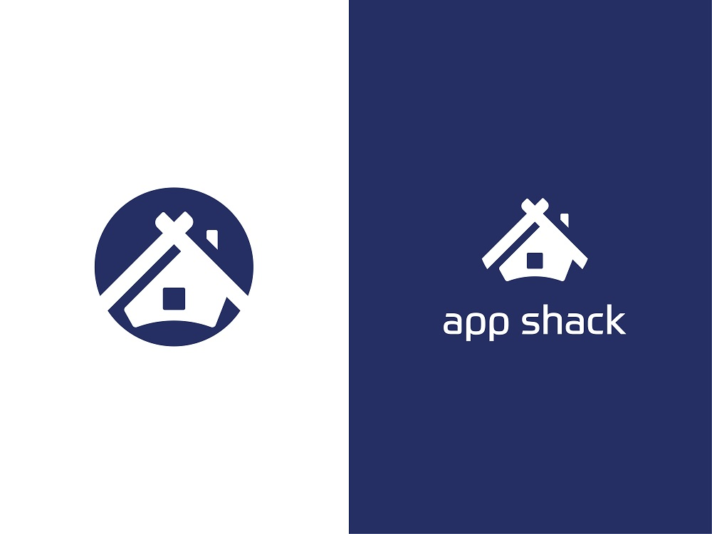 Case Study: App Shack. Logo Design for Digital Agency.