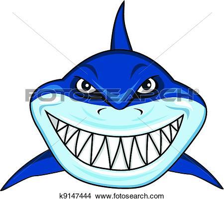 Drawings of Smiling shark k9147444.