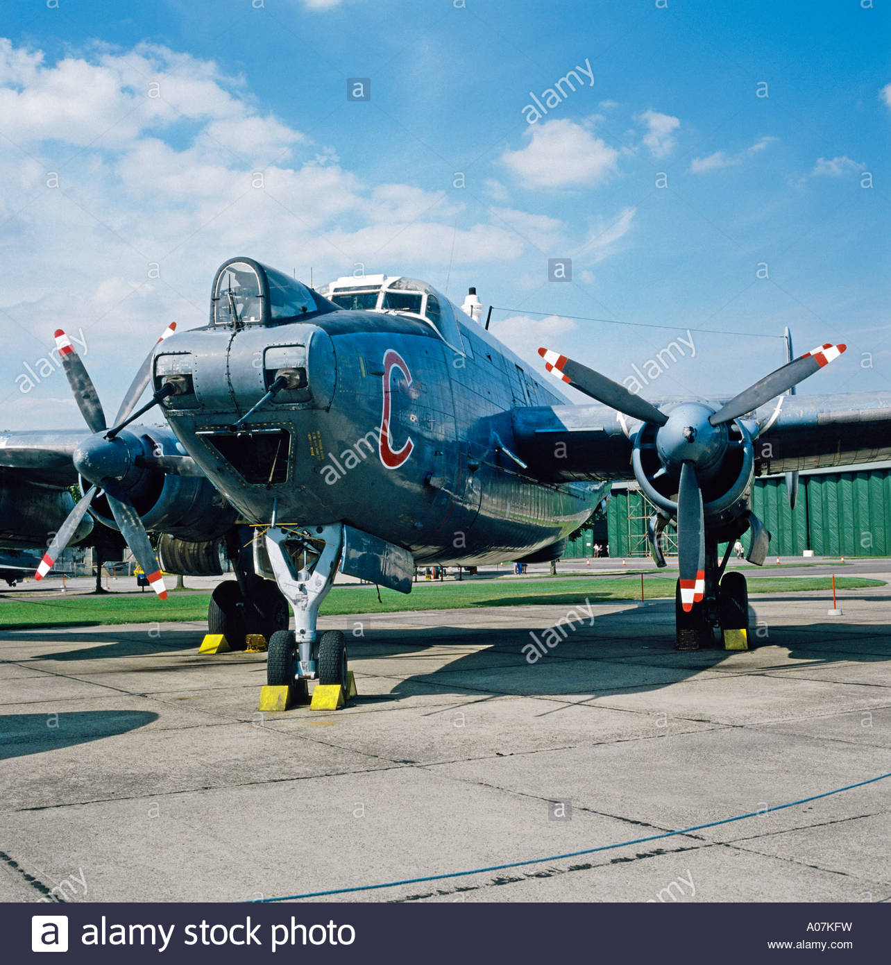 Avro Shackleton Mr 3 Xf708 Maritime Reconnaissance Aircraft Ex 201.