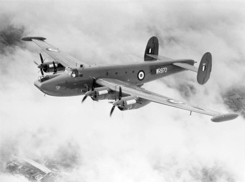Avro Shackleton.