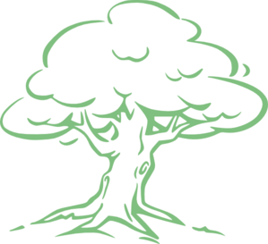 Light Green Oak Tree Clip Art at Clker.com.