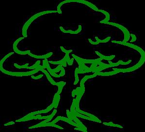 Light Green Oak Tree Clip Art at Clker.com.