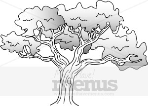 Shade Tree Clipart.