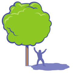 Free Tree Clip Art that is Eco Friendly.