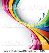 Royalty Free Color Stock Rainbow Designs.