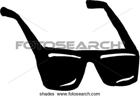 Clip Art of Shades 3 shades.
